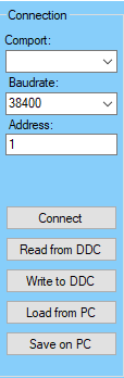 DDC Config Monitoring Connection
