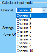 DDC Config Caculator Channel