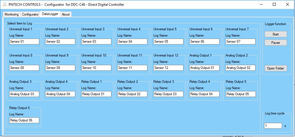 DDC Config Datalog 01